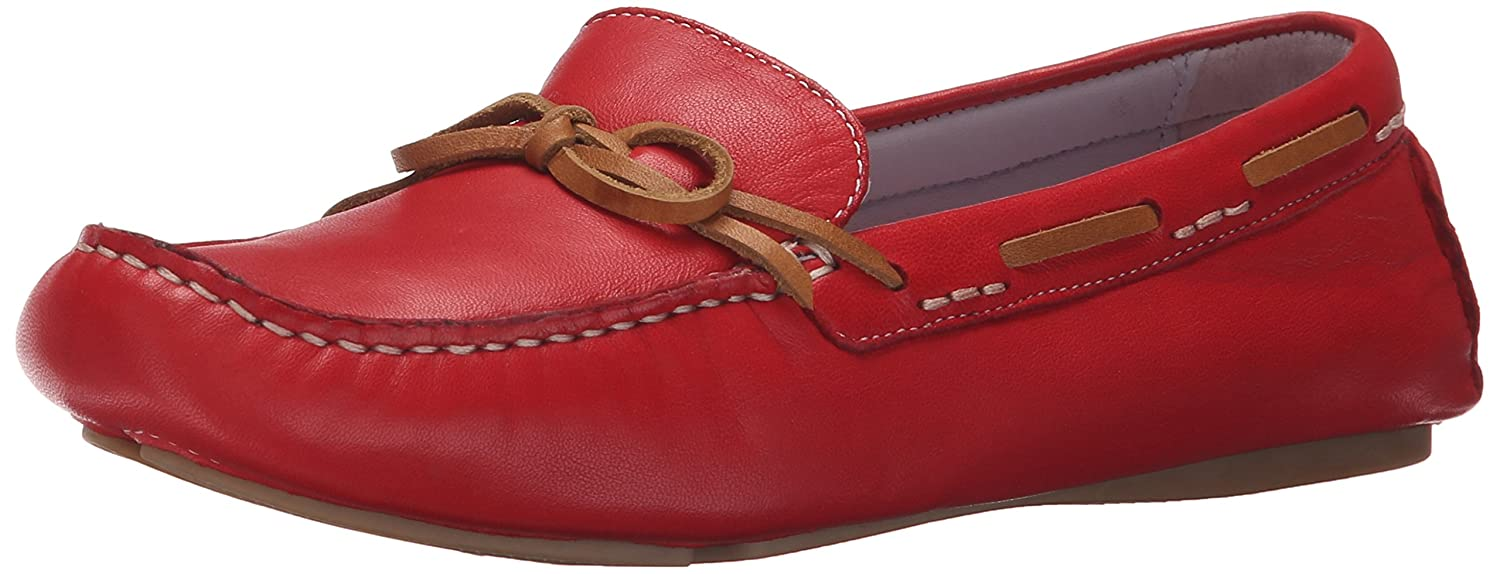 Johnston & Murphy Women's Maggie Camp Moccasin B00LCF6IJY 8.5 B(M) US|Cardinal Red