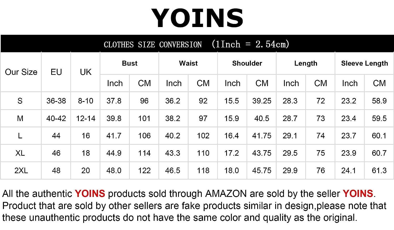 YOINS Dam långärmad V-ringad tröjor pläd vardagliga toppar kolla klassiska blusar för damer Star Print-grey