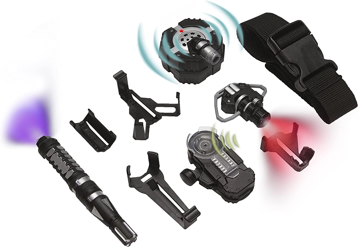 SpyX Micro Gear Set - 4 Must-Have Spy Tools with  Adjustable Belt