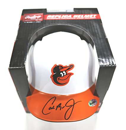 7ac391906 Image Unavailable. Image not available for. Color  Cal Ripken Jr. Baltimore  Orioles Signed Autographed Mini Helmet