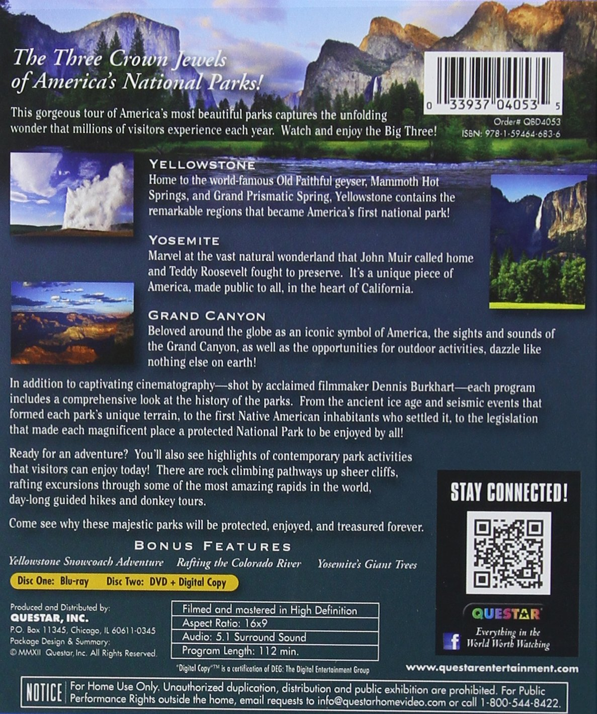 Amazon Americas National Park Collection