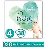 Prima Pure Bebek Bezi 4 Beden 38 Adet, Beyaz
