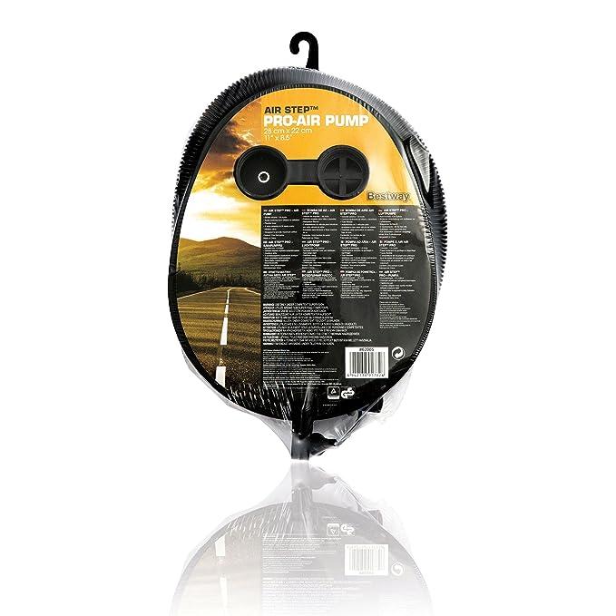 Bestway 62005 Inflador de pie, Deporte y Aire Libre, Negro, Amarillo, DE: 29 x 22 cm: Amazon.es: Deportes y aire libre