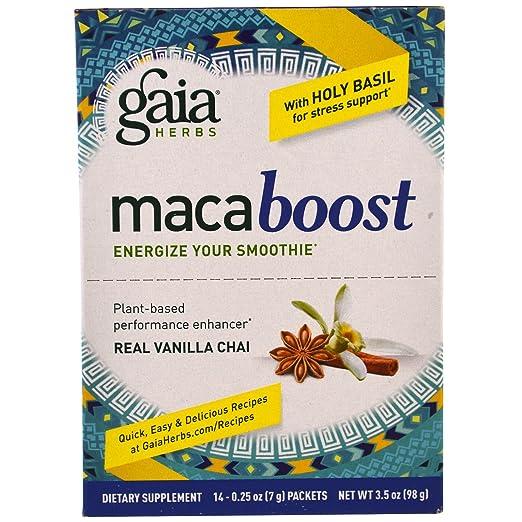 MacaBoost Vanilla-Chai Gaia Herbs
