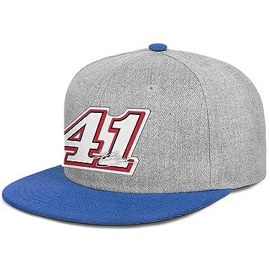 Hoklcvd Unisex Polo Style Baseball Cap Kurt Busch #41 Nascar Adult ...