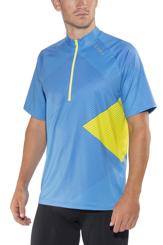 LÖFFLER He. Bike Shirt Monaco half-zip