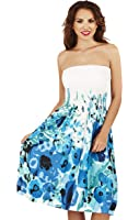 Martildo Fashion, Ladies 3 in 1 Cotton Holiday Vacation Dress