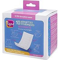 Tigex 80890556 - Pack 10 compresas maternidad