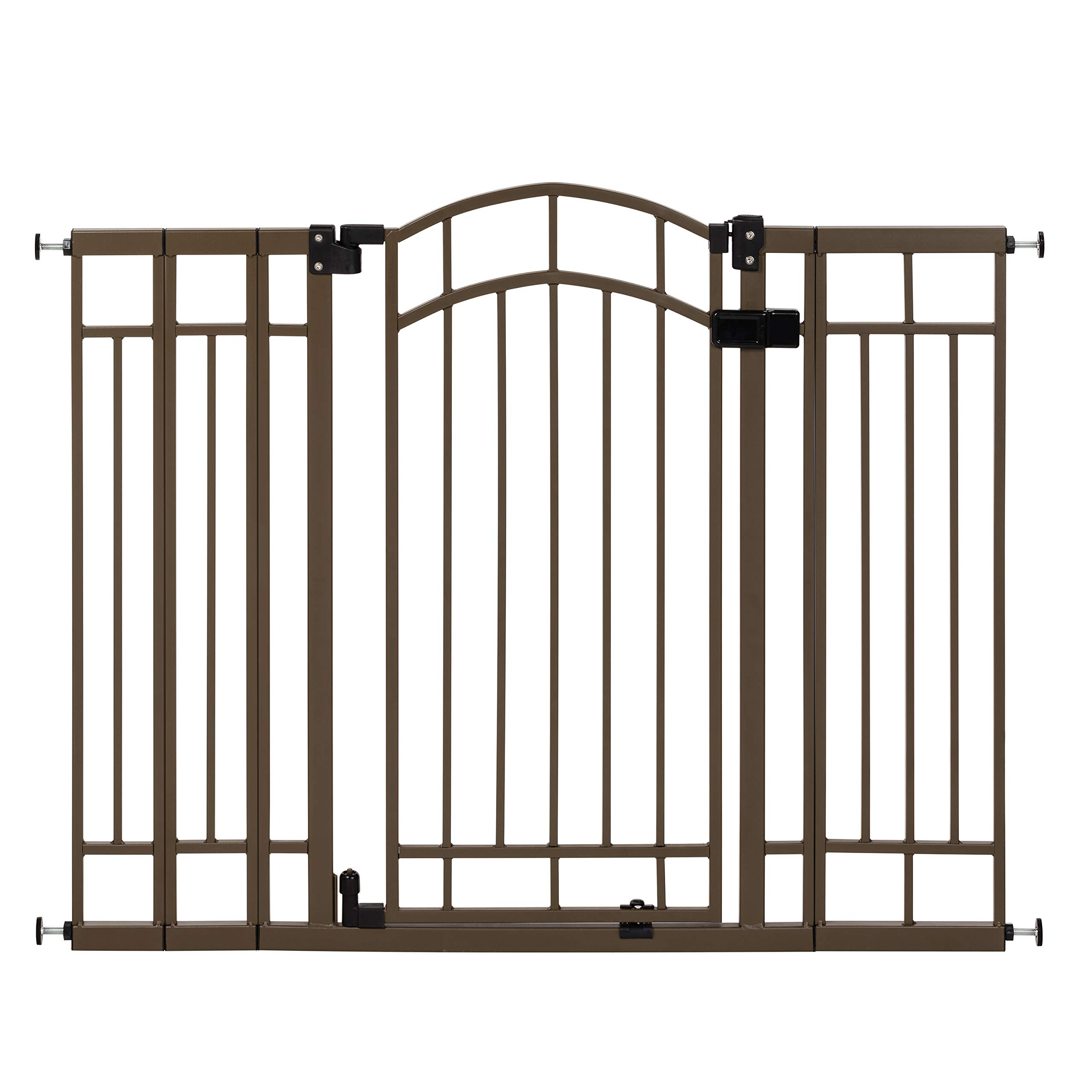 Summer Infant Multi-Use Deco Extra Tall Walk-Thru Gate, Bronze by Summer Infant
