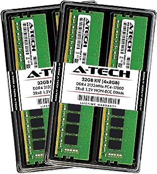 8GB 2133 unbuffered RAM DIMM module 797346-581