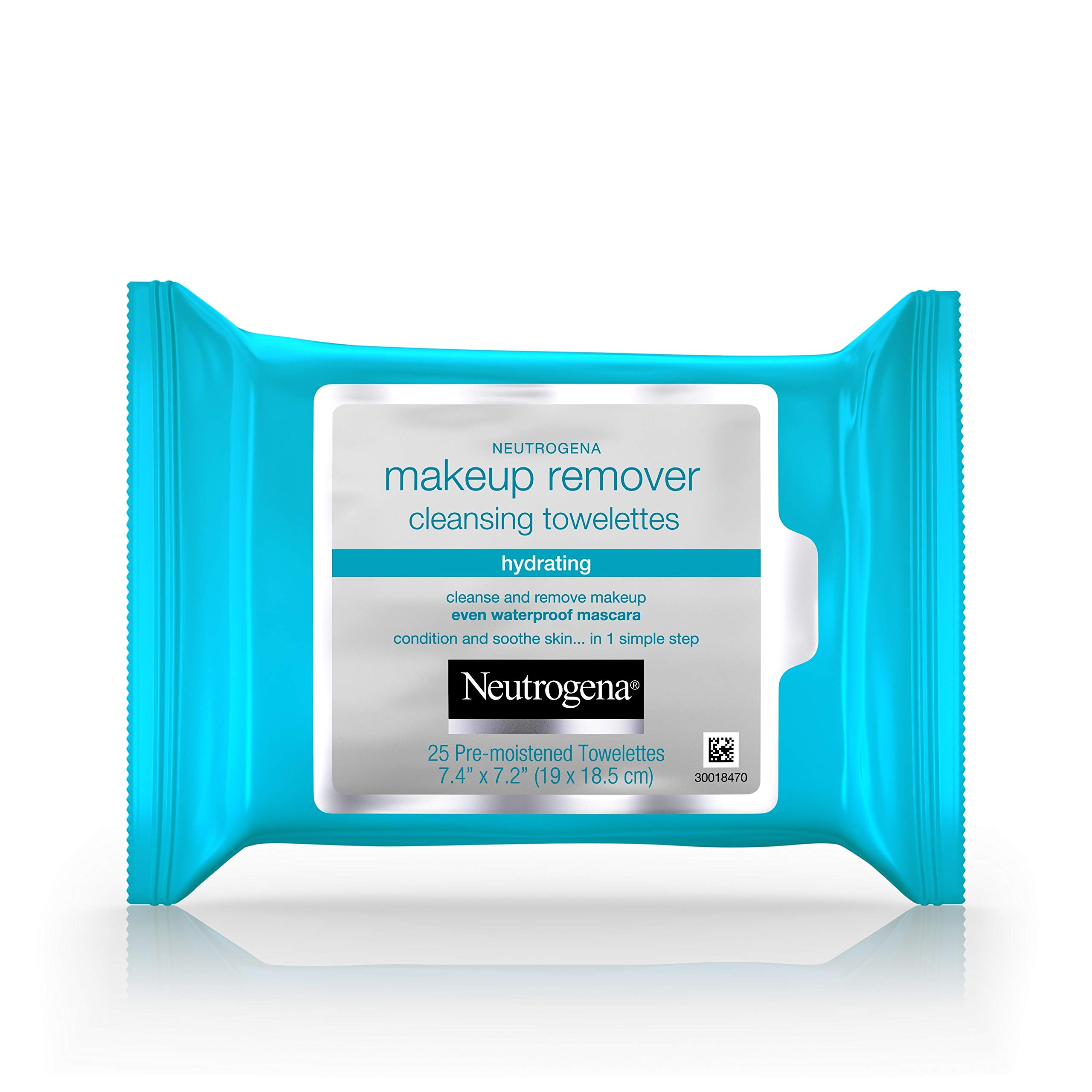 Neutrogena Hydrating Makeup Remover Facial Cleansing Wipes, Value Pack 25 Count (Pack of 3