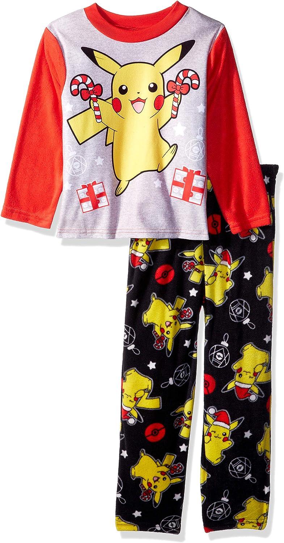 Pokemon Boys Pikachu Pajamas