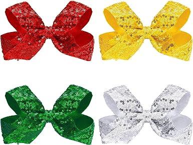 Girls Glitter Bow Glitter Barrette Toddler Hair Bow Gold Glitter Bow Glitter Bow Headband Gold Hair Clip Gold Sparkly Bow
