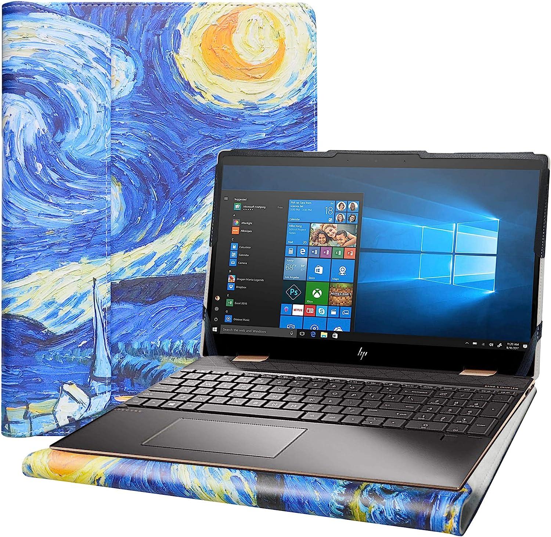 """Alapmk Protective Cover Case for 15.6"""" HP Spectre x360 15-ebXXXX 15-EB0053DX 15-EB0043DX Series Laptop[Note:Not fit Spectre x360 15-blXXXX 15-chXXXX 15-dfXXXX 15-apXXX],Starry Night"""