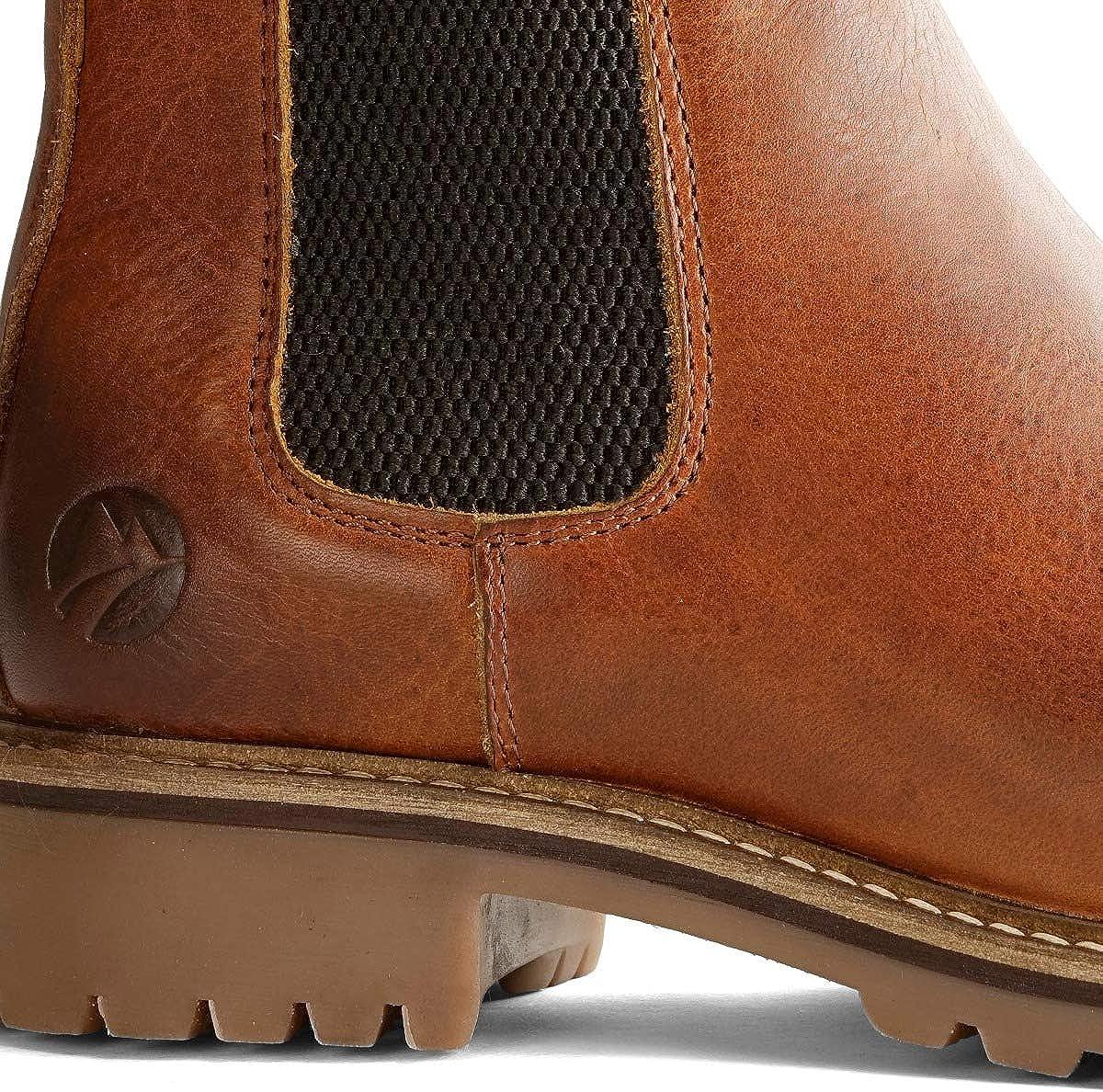 Travelin' Skjern Damen Ankle Boots Chelsea Boots aus