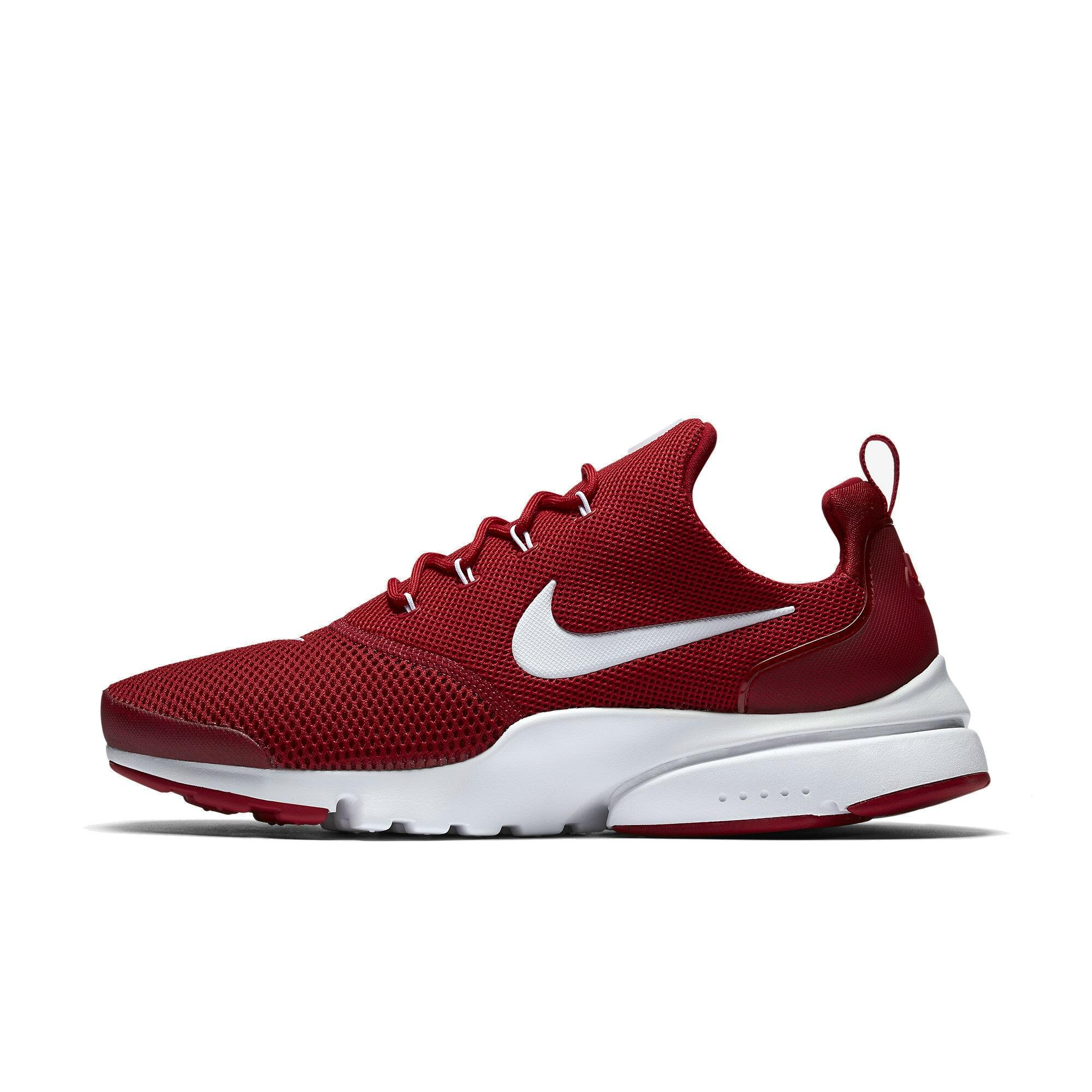 best service 44a5d f76c5 NIKE Presto Fly Gym RED White 908019 600 Mens Running