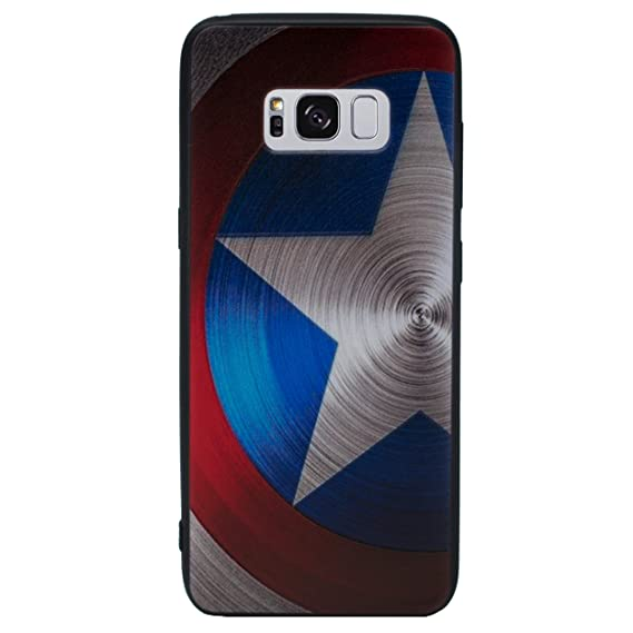 f873ce2b4df Galaxy S7 Edge 3D Marvel Silicone Phone Case Gel Cover for Samsung Galaxy S  7