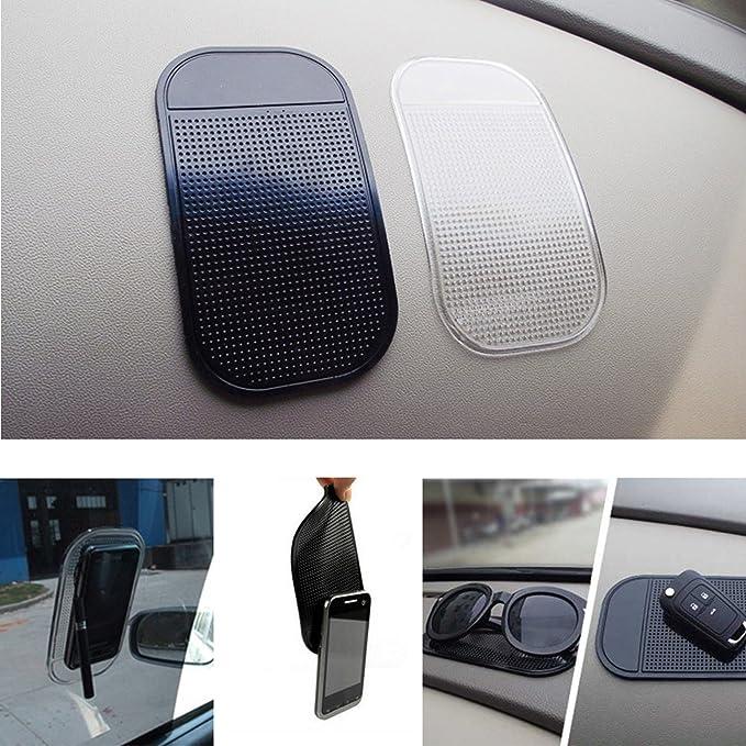 1pc Car Dashboard Sticky Pad Gel de Sílice Magic Sticky Pad Holder Mat Anti Slip para coche teléfono celular coche accesorios: Amazon.com.mx: Electrónicos