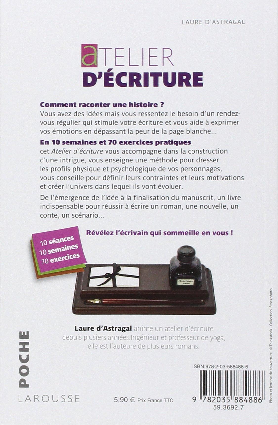 Bien-aimé Amazon.fr - Atelier d'écriture - Laure Astragal - Livres LK38