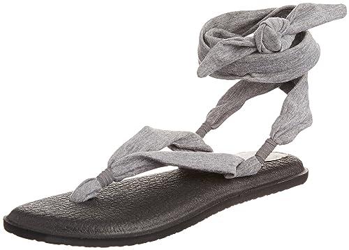 Sanuk Yoga de la Mujer Slinged Up Sandalias de Gladiador ...