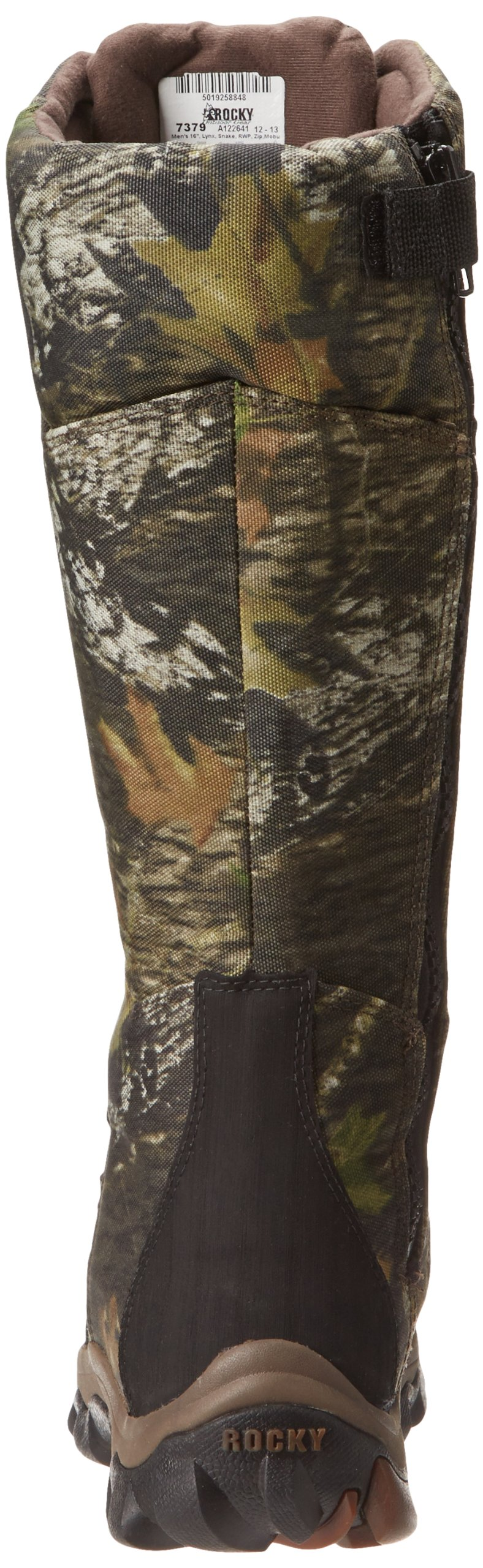 Rocky Men's Lynx Snake Boot Hunting Boot,Mobu,10 M US by Rocky (Image #2)