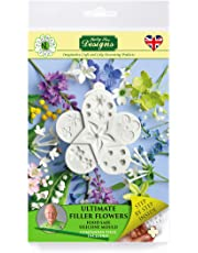 Cake Decorating Fondant Icing Silicone Mold - Sugarcraft Sugar Flowers Flower Pro Ultimate Filler Flowers from Katy Sue Designs