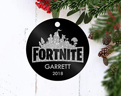 Amazon Com Fortnite Christmas Ornament Game Ornament Kid Christmas