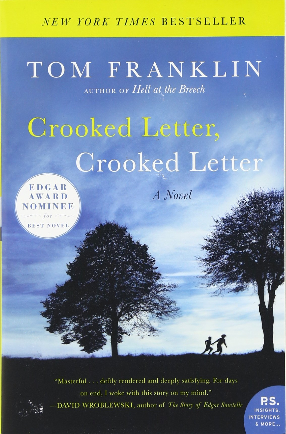 Crooked Letter, Crooked Letter: Tom Franklin: 9780060594671: Amazon:  Books