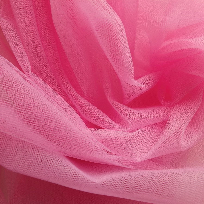 Tela de tul de color rosa cereza de 300 cm de ancho, por metro ...
