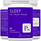 Halcyon Sleep   Natural Sleep Aid - Stress, Anxiety & Insomnia Relief - Adrenal Fatigue Supplement   Fall Asleep Faster…