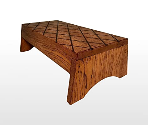 Step Stool by Candlewood Furniture, Extra Long, Rustic, Wooden, Wood, Grandma Gift, Grandparents Gift, Grandpa Gift, Foot Stool, Bed, Custom