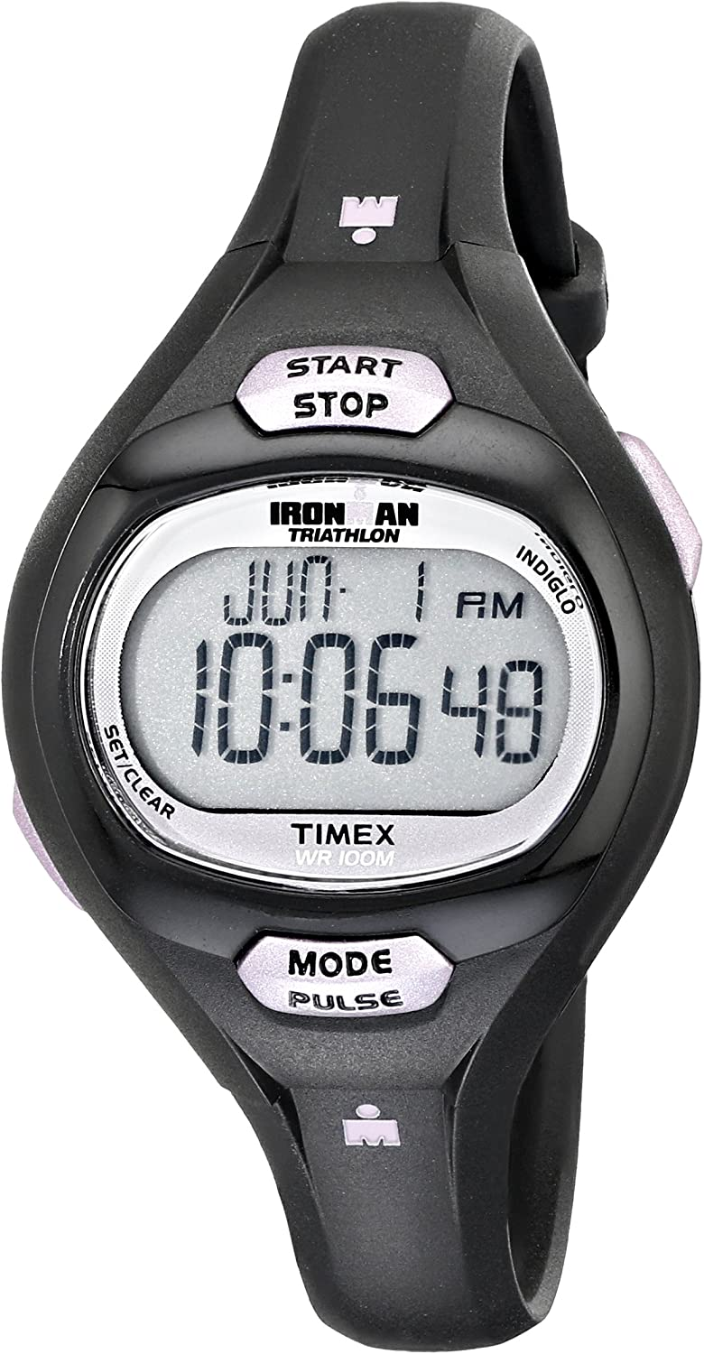 Casio Women s Runner Quartz Running Watch with Resin Strap, Black, 19.3 Model LWS-2000H-1AVCF