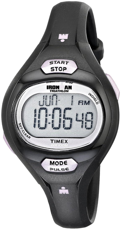amazon com timex women s t5k187 ironman essential pulse black rh amazon com manual reloj timex ironman triathlon 10 lap manual para reloj timex ironman triathlon