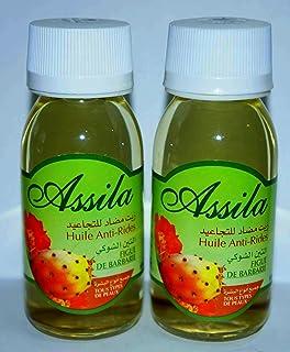 1 Botella de cristal de 60 ml - Aceite de higo chumbo - Assila - todo