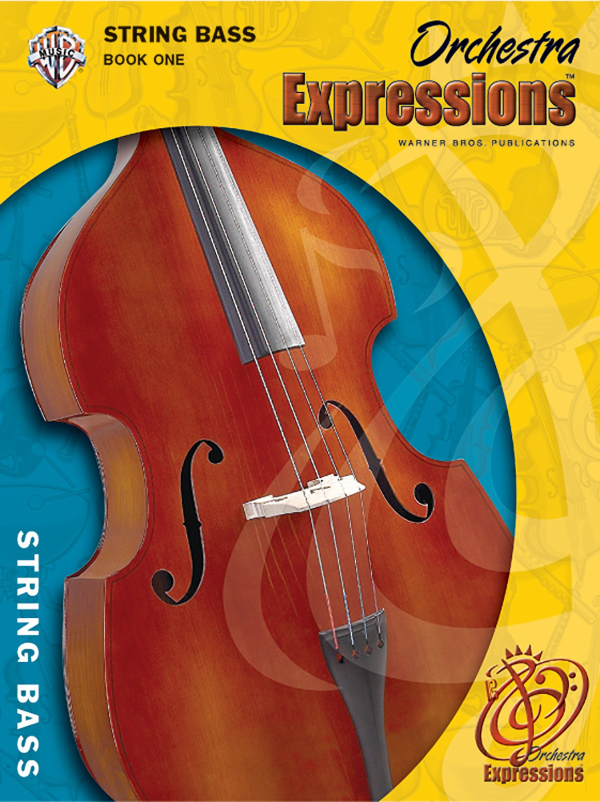 Orchestra Expressions, Book One Student Edition: String Bass, Book & CD