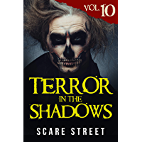 Terror in the Shadows Vol. 10: Horror Short Stories Collection with Scary Ghosts, Paranormal & Supernatural Monsters book cover