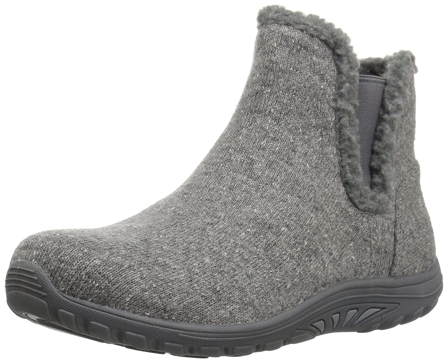 Skechers Damens's Damens's Skechers Reggae Fest-Speckled Chelsea Boot,Gray,6 M US - b9dec2
