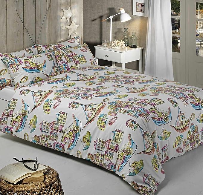 Harbour, funda de edredón juego de cama, fabricado en España ...