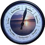 Day Of The Week Clock NC Sunrise