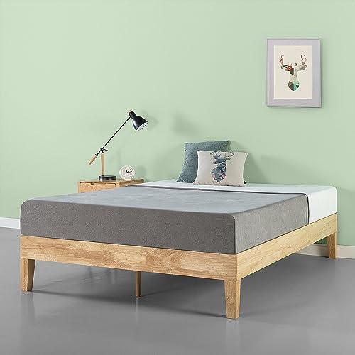 Zinus Moiz 14 Inch Deluxe Solid Wood Platform Bed Frame