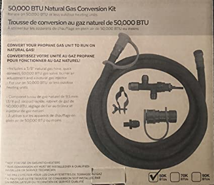 Amazon Natural Gas Conversion Kit Only To Convert Your