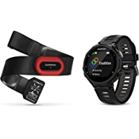 Garmin 010-01614-12 Forerunner 735XT Run Bundle, Black/Gray