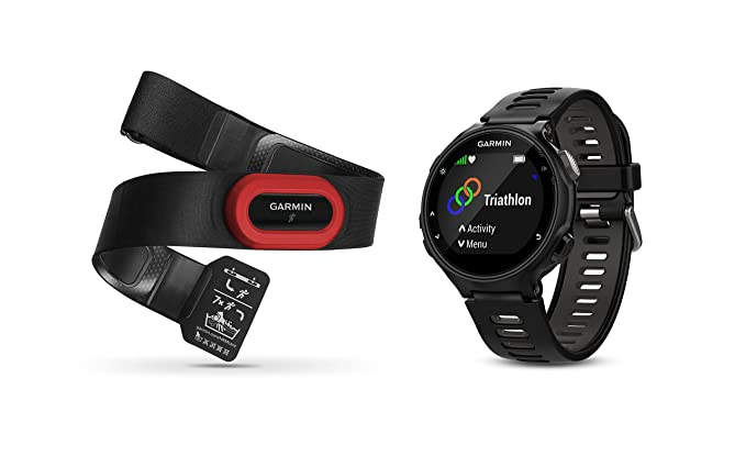 Amazon Com Garmin Forerunner 735xt Bundle Multisport Gps Running