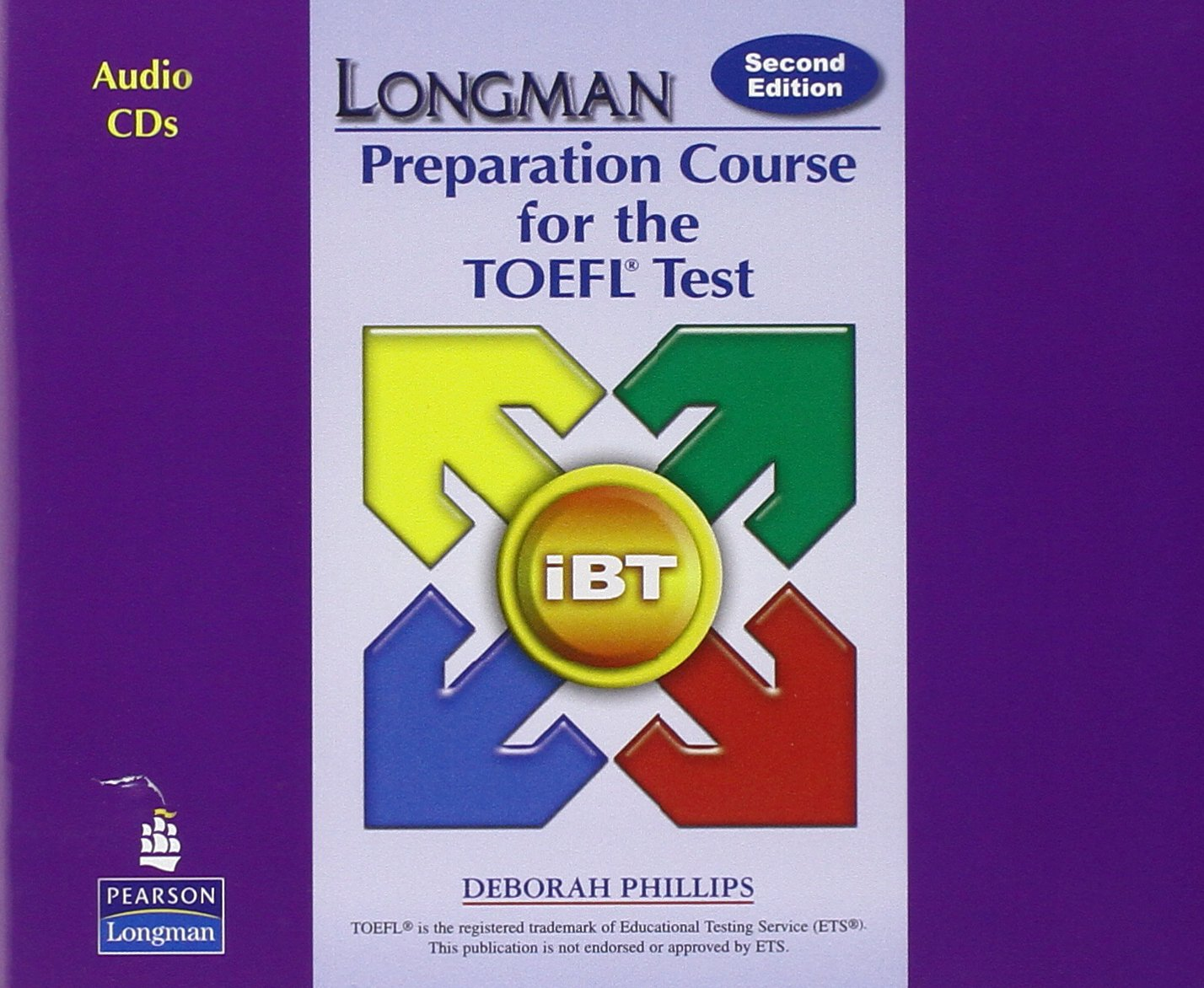 longman preparation course for the toefl test ibt audio cds