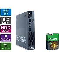 Lenovo ThinkCentre M92p Tiny | Mini PC | Intel Core i5-3470T @ 2,9 GHz | 8GB DDR3 RAM | 320GB HDD | Windows 10 Pro (Zertifiziert und Generalüberholt)