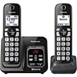 Panasonic KX-TGD562M Link2Cell Bluetooth Cordless Phone with Voice Assist and Answering Machine - 2 Handsets (Certified Refurbished)