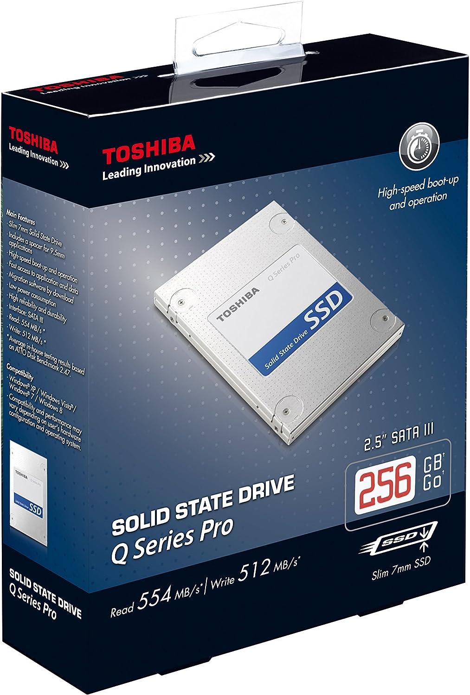 Toshiba 512GB 512GB - Disco Duro sólido (Serial ATA III, 2.5 ...
