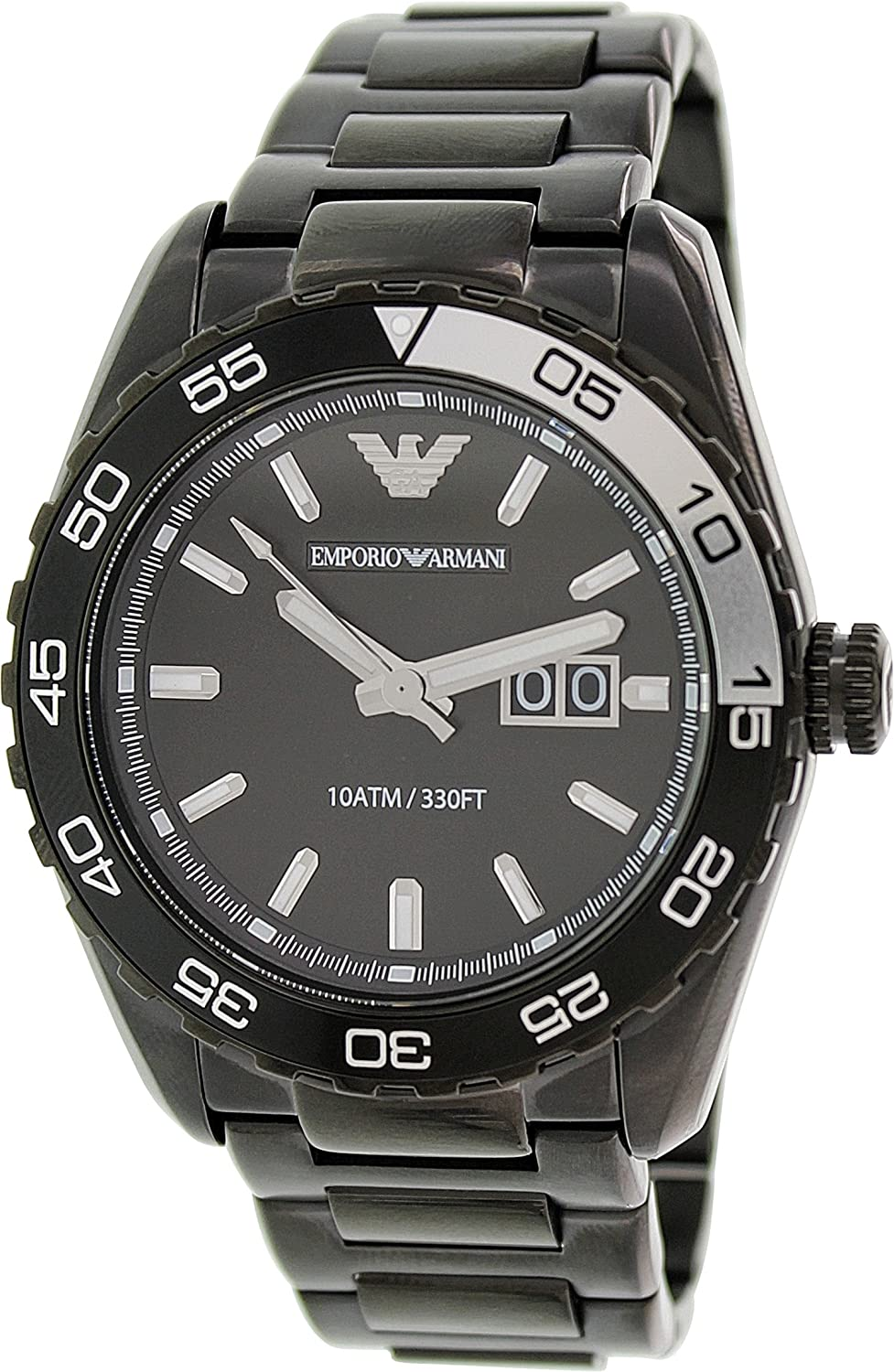 Armani Men's AR6049 Sportivo Black Watch