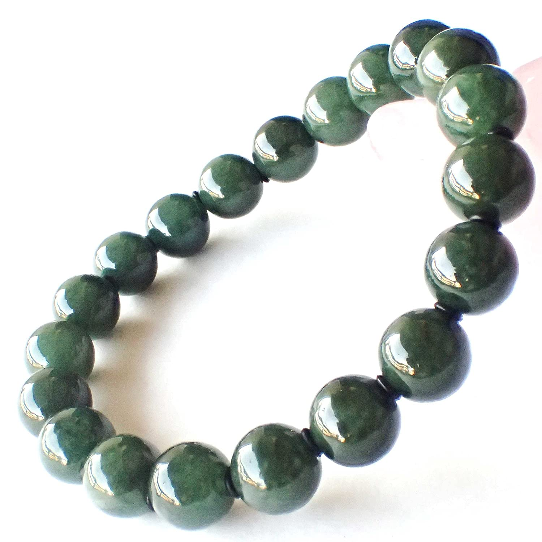 SA級一点物 糸魚川産 希少天然石5月誕生石 翡翠 のパワーストーンブレスレット B00GOY60EG