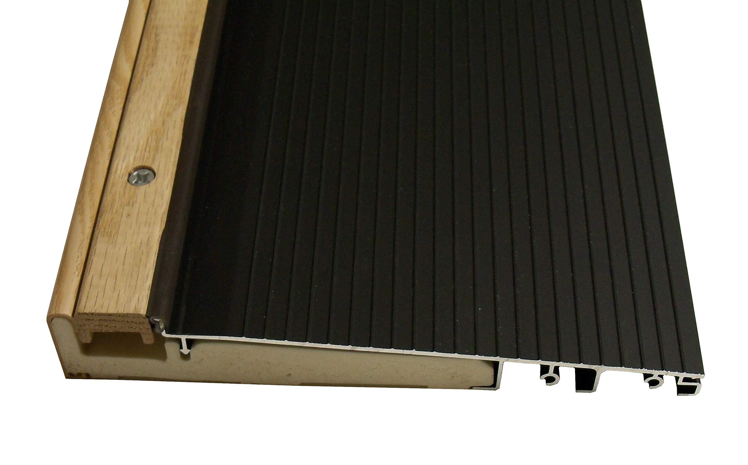 Exterior Inswing Threshold 7 13/16 inch x 72 inches in Dark Bronze